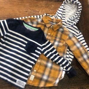 Carter's boy lot shirts